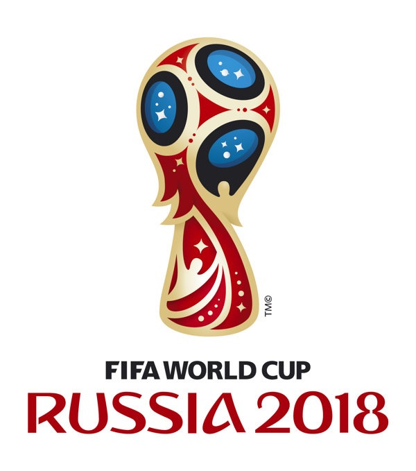 World Cup 2018 Russia logo
